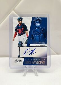Eric Haase 2019 Panini Absolute Baseball Rookie Autograph Cleveland Indians