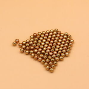 Solid Bearing Balls High Precision 20mm 20pcs Brass H62