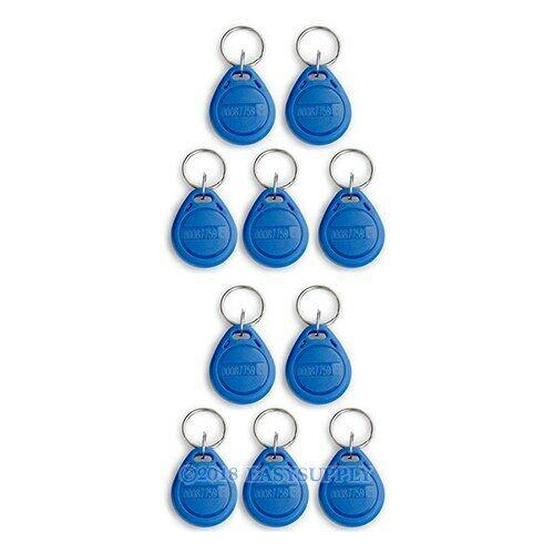 TOP! 50 Bleu Porte Clés RFID 125Khz Bages De Proximité Pour Digicode
