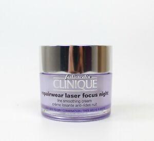 NEW-Clinique-Repairwear-Laser-Focus-Night-Line-Smoothing-Cream-1-7-oz-50ml