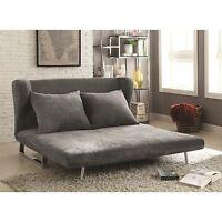 for dorm room gray velvet queen sofa bed futon living room furniture