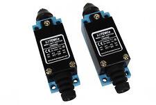 2 Pcs Temco Plunger Limit Switch Nc No Cnc Mill Plasma Router Lathe Home