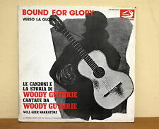 Woody Guthrie - Bound for Glory Verso la gloria  - Albatros VPA 8246 - Booklet