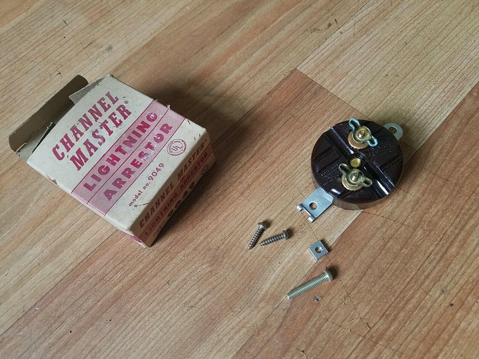 1950/60s Vintage Lightning Arrestors TV HAM CB ANTENNA Channel Master OB. Available Now for 9.95