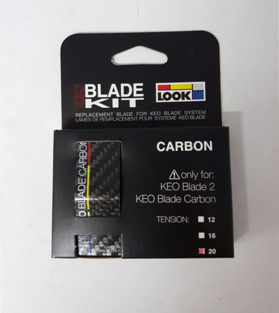 12Nm//16Nm//20Nm Pedals Clipless Look Keo Blade 2 Replacement Carbon Blade Kit