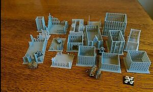 SCENERY-16-6mm-scale-buildings-Ideal-for-Epic-Dystopian-Wars-any-6mm-game