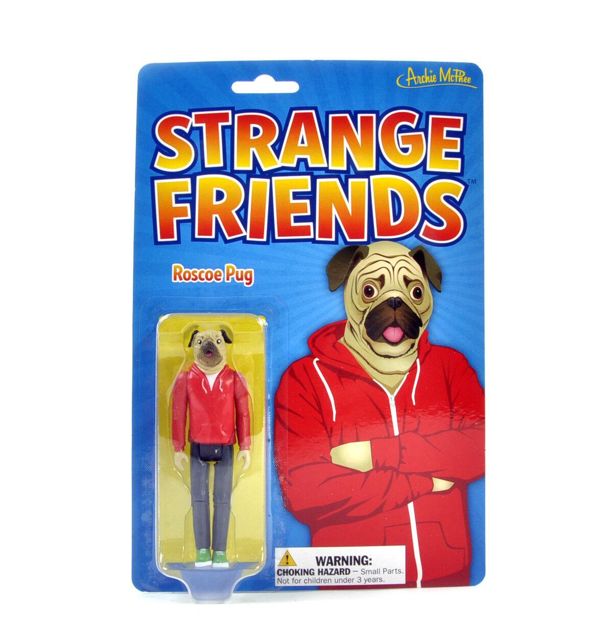 Strange Friends - Roscoe Pug Action Figure