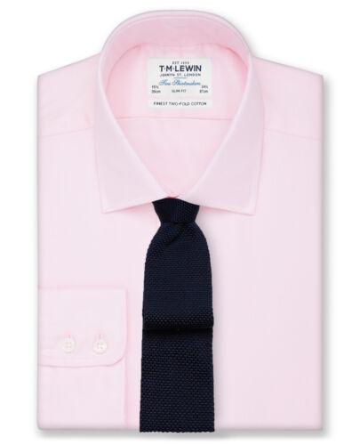lewin Homme Slim Plain rose luxe en sergé 20 T.m