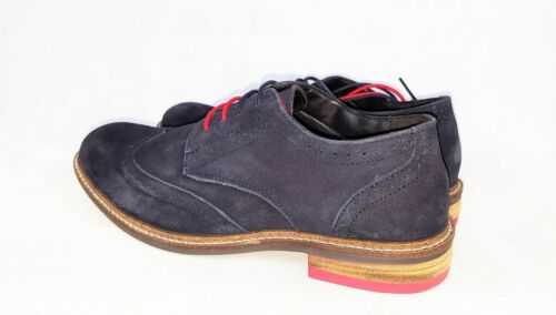 Mens New Navy Office Smart Real Leather Lace Casual//Formal Shoes UK Sizes 7-12