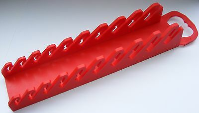CONSOLIDATED TOOLS QUALITY RED STUBBY SPANNER WRENCH RACKS TOOL ORGANIZER SR10