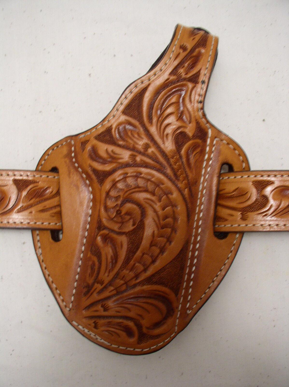 5 Kimber Colt 45 Government 1911 45 Colt Leder Gun Handgun Carry Belt Holster a6aa34