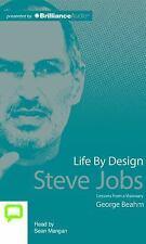 Life by Design : Steve Jobs by George Beahm (2015, CD, Unabridged)