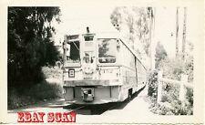 6H287 RP 1951 KEY SYSTEM RAILWAY CAR #152 AT UNDERHILLS