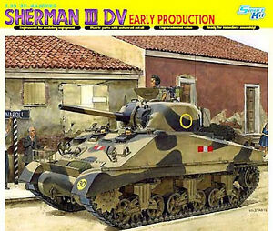 Dragon 1:3 5 6573:Solid Sherman II DV, Early Production