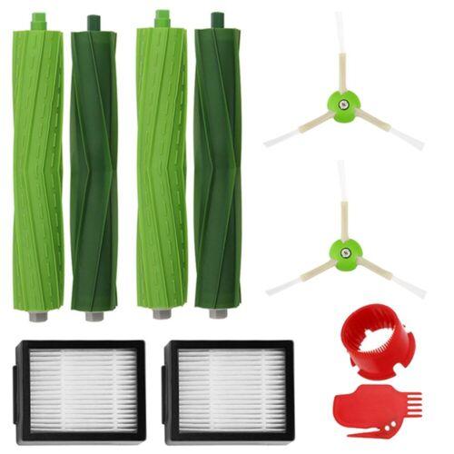 Replacement Parts Side Brush/&Filters For iRobot Roomba i7 i7+//i7 Plus E5 E6 E7