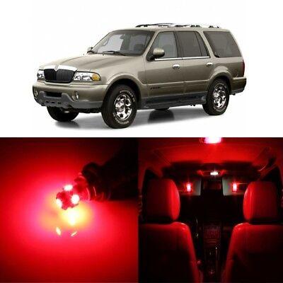 TOOL 16 x White LED Interior Light Package For 1998-2002 Lincoln Navigator