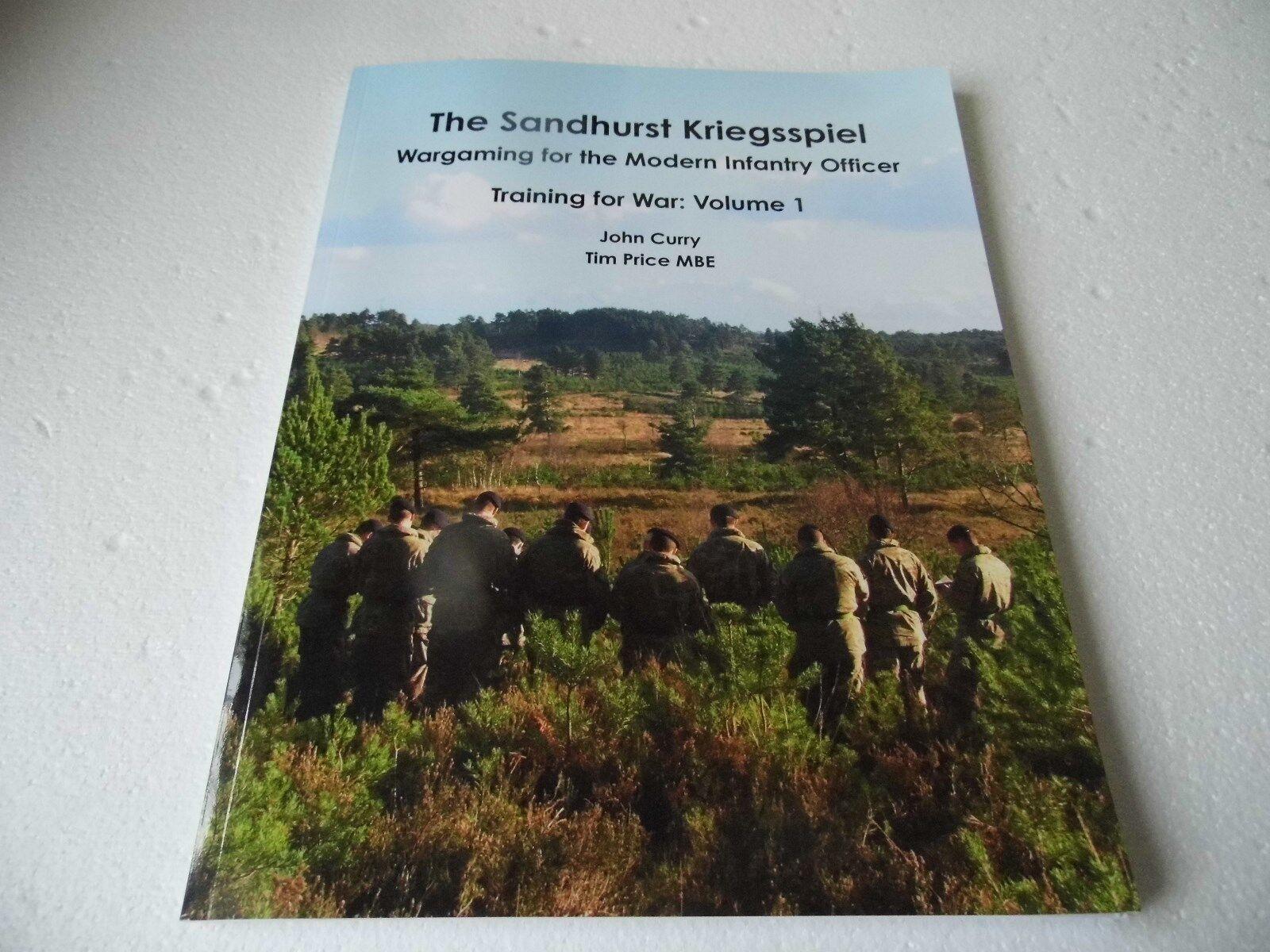 El Sandhurst kriegsspiel- kriegsspiel- kriegsspiel- JUEGOS DE GUERRA para Moderno Infantería Oficial  más orden