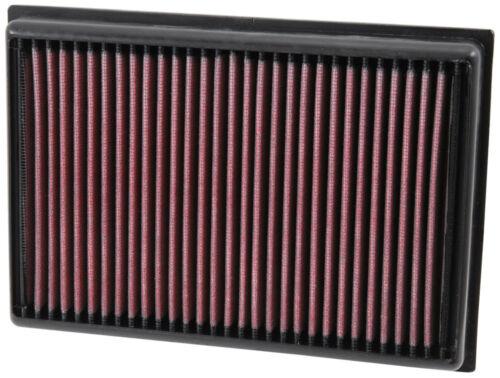 K/&n 33-5007 haut débit filtre à air pour vauxhall opel mokka 1.4 1.6 1.7 2012-16