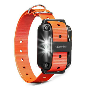 Dog-Shock-Training-Collar-Receiver-Rechargeable-Adjustable-Strap-IP67-875-Yards