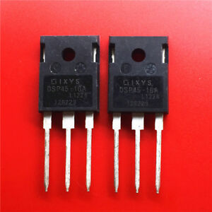 10PCS-DSP45-16A-Encapsulation-TO-3P-Phase-leg-Rectifier-Diode