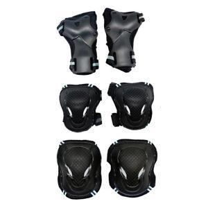 Kit-de-6pcs-Protection-pour-Moto-Cyclisme-Skate-Rollers-Avec-2pcs