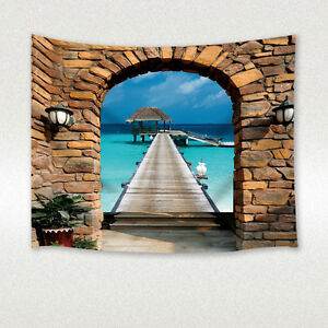 Image Is Loading Brick Wall Lights Seaside Villa Decoration Wall Hanging