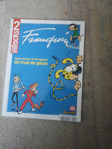 LES-INROCK-2-SPECIAL-FRANQUIN-N-45-L-039-OEUVRE-L-039-UNIVERS-L-039-HERITAGE