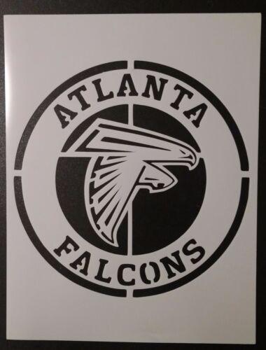 "Round Atlanta Falcons 8.5/"" x 11/"" Custom Stencil FAST FREE SHIPPING"