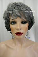 Heat Ok .. Elegant Paula Wig From Sepia .. Mix Of Grays .. Gorgeous