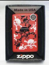 Zippo Lighter - Skull and Bones - Item # 24471