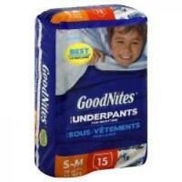 Goodnites Underpants Boy - 4 Pack