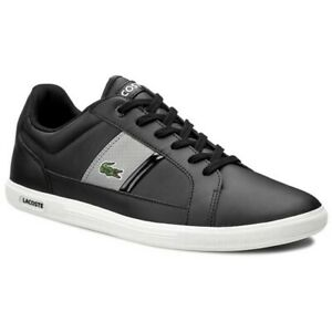 Lacoste-Europa-Sizes-6-5-16-Black-RRP-85-BNIB-GENUINE-PRODUCT