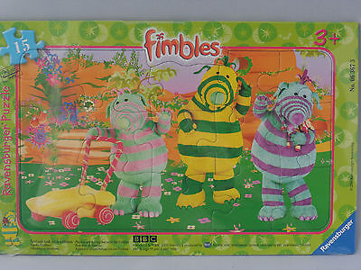 Fimbo FIMBLES Baby Pom Ravensburger 15 piece PUZZLE Florrie Frame tray!