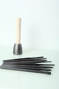 Italian-Stone-Carving-Fire-Sharp-Carbon-Steel-8pc-Point-Flat-Bullnose-Chisel-Set
