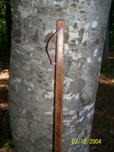 """Pièce de Collection Antique Oak tabac Stick /""""Walking Stick/"""""""