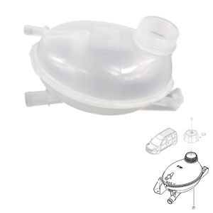 EXPANSION TANK COOLING WATER TANK COOLANT FITS RENAULT CLIO, CAPTUR, 217104354R