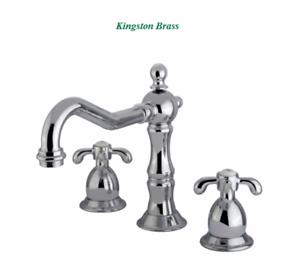 Kingston Brass French Country Centerset, French Country Bathroom Faucets