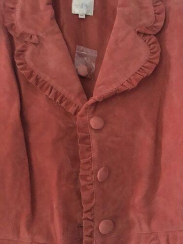 Spedizione Suit 2pc coral gratuita Giacca e pelle womans in Alice Blue lavabile di Skirt nx7q40xS