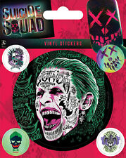 SUICIDE SQUAD - The Joker Aufkleber Vinyl Stickers - 10x12,5cm