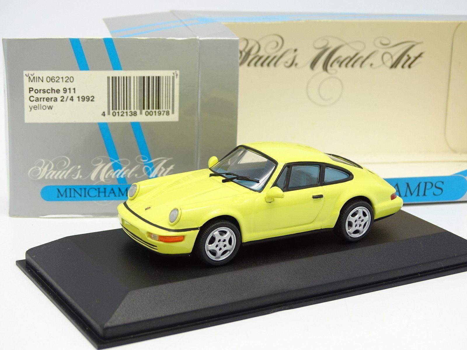 Minichamps 1 43 - Porsche 911 964 Carrera 2 4 1992 Amarillo