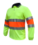 HI-VIS-Work-Polo-SHIRT-BIO-MOTION-DAY-NIGHT-NEW-BREATH-TAPE-SAFETY-LONG-SLEEVE thumbnail 4