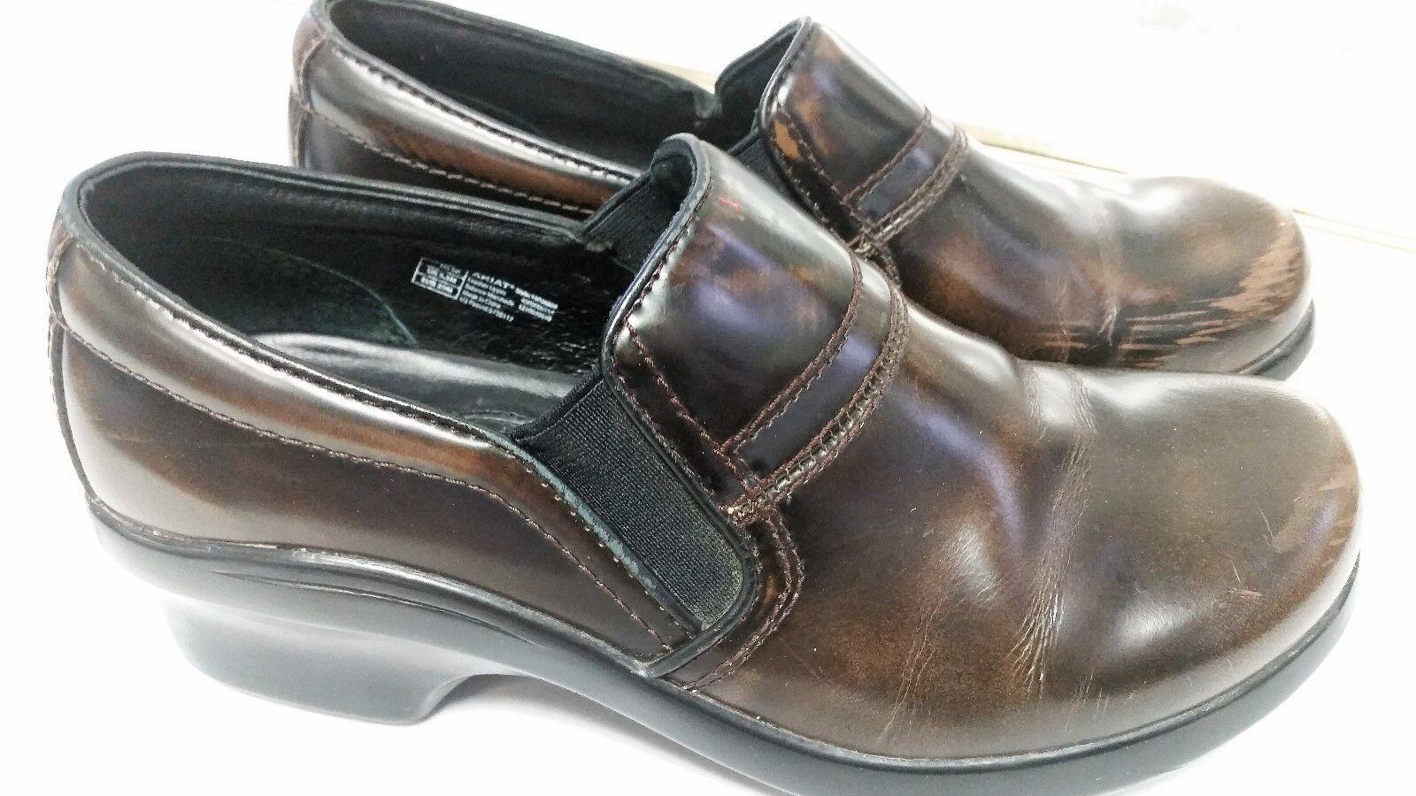 Ariat Santa Cruz 39 US 8-Front cuir professionnel soins infirmiers à Enfiler chaussures Sabots