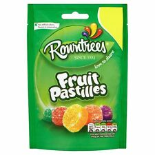ROWNTREE'S FRUIT PASTILLES SWEETS: 12 x 120g BAGS