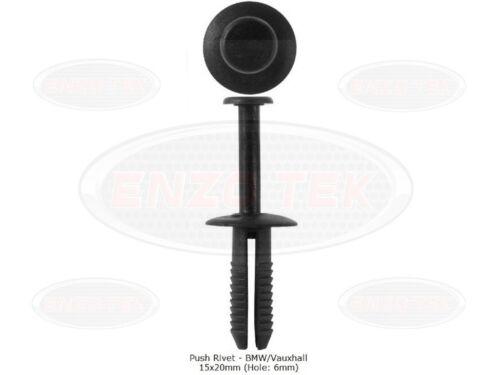 25x Vauxhall/BMW Bumper & Plastic Rivet Body Panel Trim Clips Bodyshop Fixings