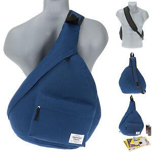 Bodybag-SOUTHWEST-Z-Bag-2-Eingurt-Rucksack-Freizeitrucksack-Sportrucksack-BLAU