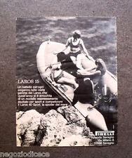 O607 - Advertising Pubblicità -1969- PIRELLI , LAROS 15