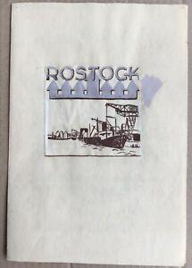 Rostock-Stadtansicht-Entwurf-Wilhelm-Pieck-SED-17-x-25-DDR