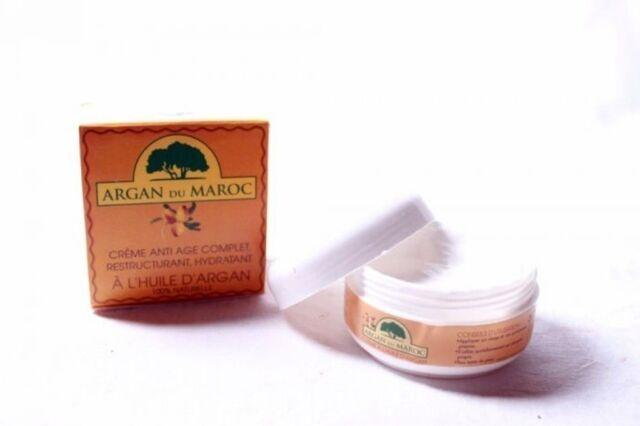 Crème de soin de visage 100% Bio à l'huile d'Argan Du Maroc 100 ML