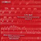 C.P.E. Bach: The Complete Keyboard Concertos, Vol. 19 (CD, Mar-2013, BIS (Sweden))