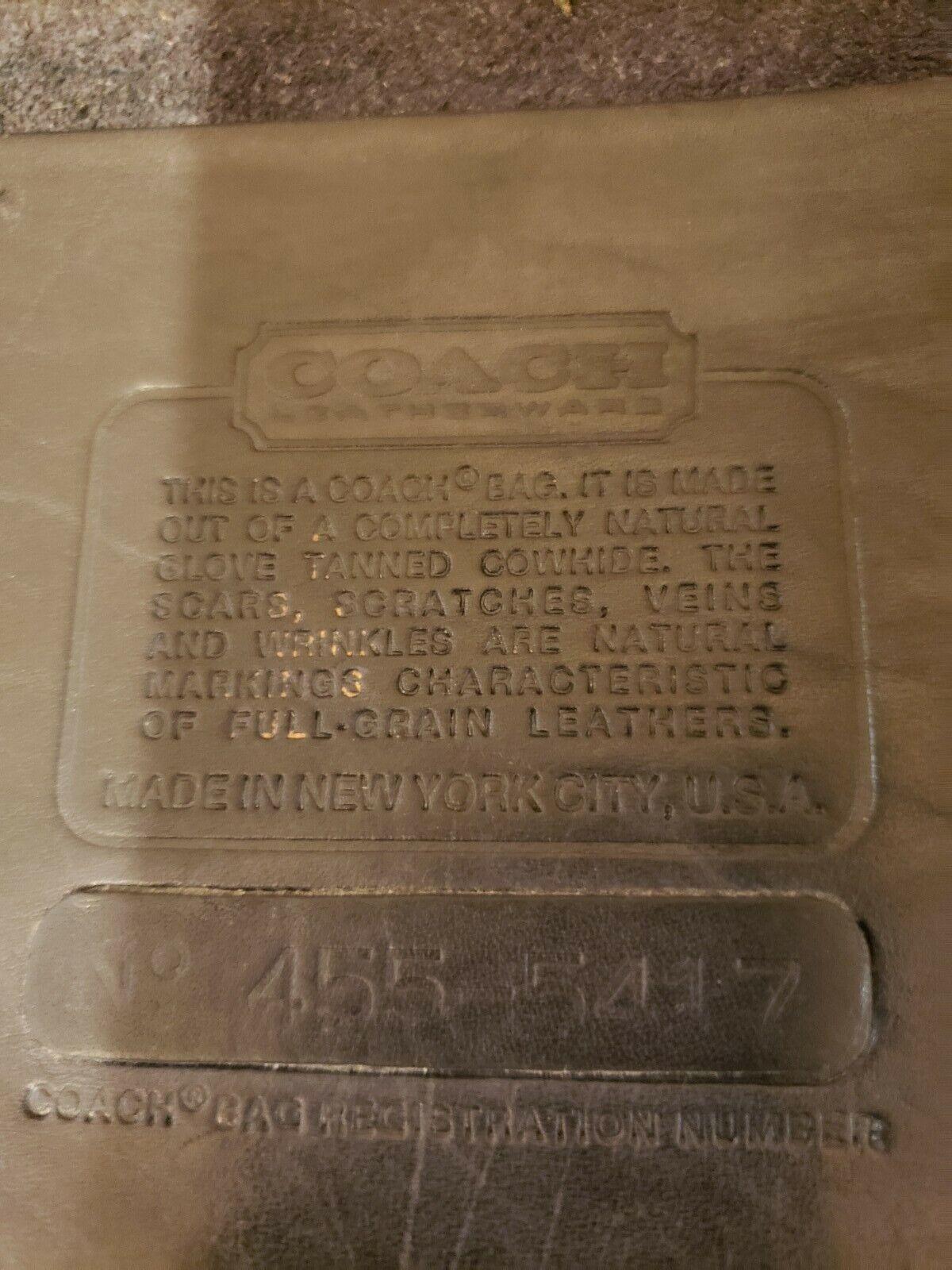 Rare Vintage Authentic Coach NYC Bonnie Cashin 19… - image 11